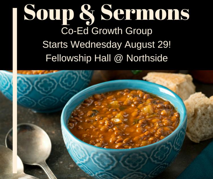 Soup & Sermons & Stress Relief